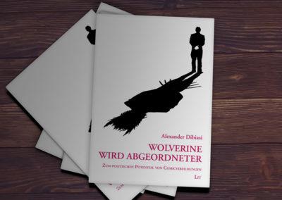 Buchcovers für Irene Messinger und Alexander Dibiasi